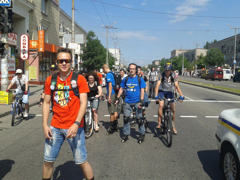 ФСК по центральной улице Запорожья