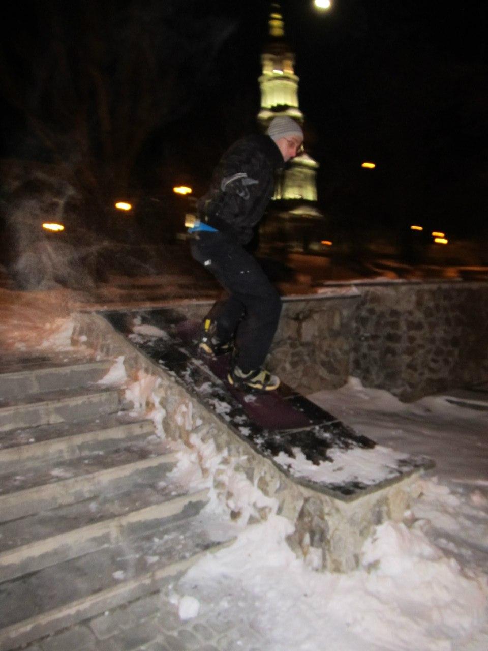 Скоростное Фифти на фонтане Благовещенского спуска