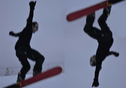 Флип на сноуборде