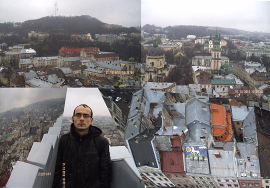 Сторони світу з ратуші Львова: