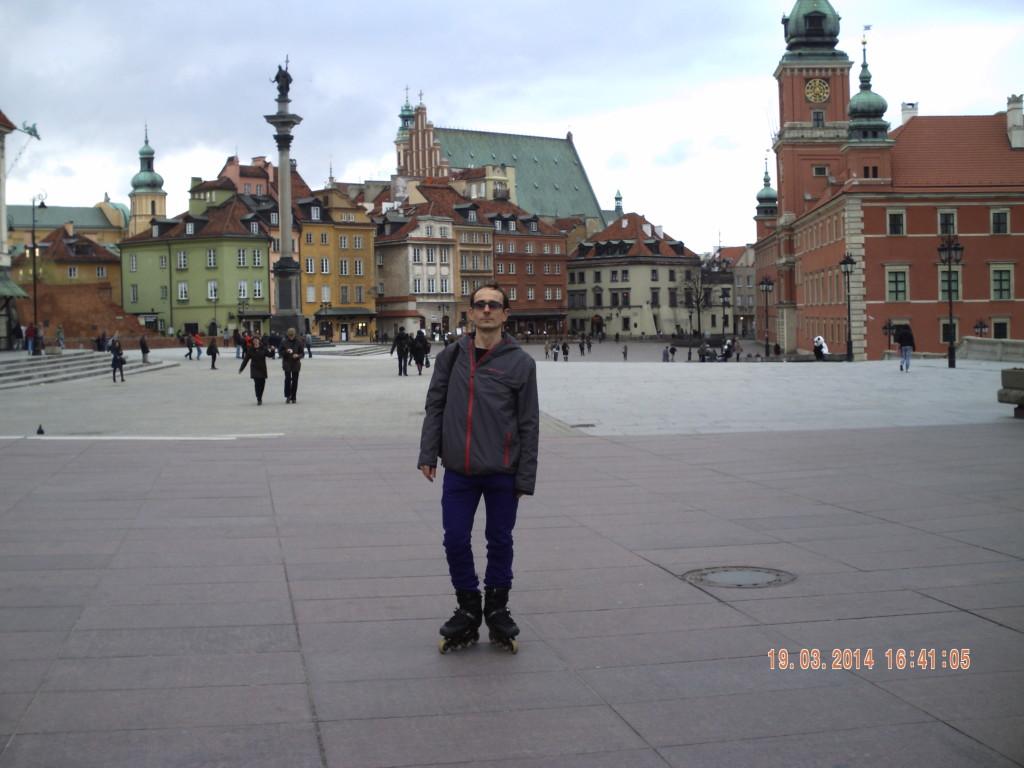 Dymenko Serhii. Free Skating in Warszaw
