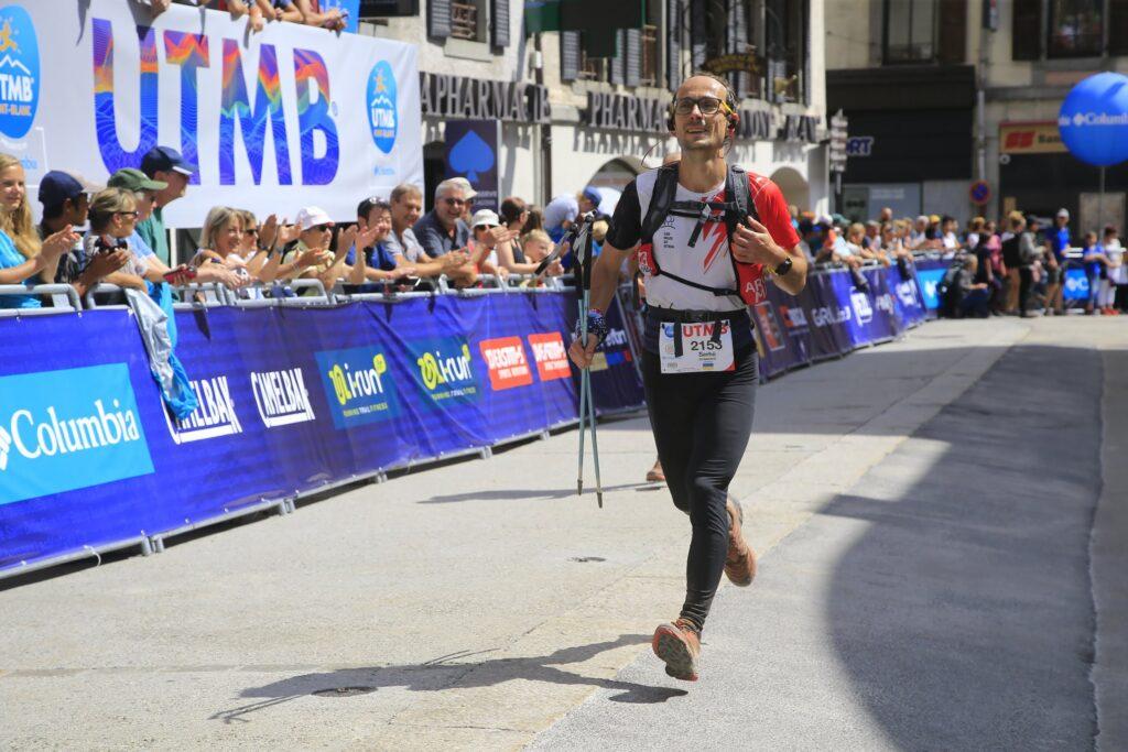 Фінішна 100-метрівка UTMB